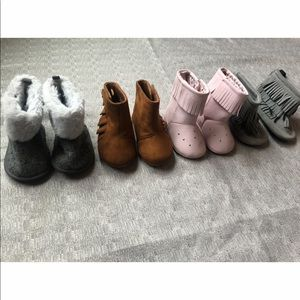 Various Baby Girl Boots